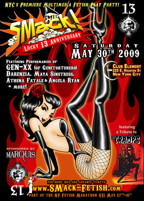 SMack Lucky13Anniv 5 30 09 Ive Been Smokin Ive Been Drankin So Excuse My   SMack! Lucky 13 Anniversary: KINK ABILLY :: DIRTY SMOKERS ::